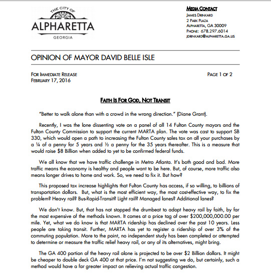 DBI MARTA statement