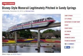 Sandy Springs monorail