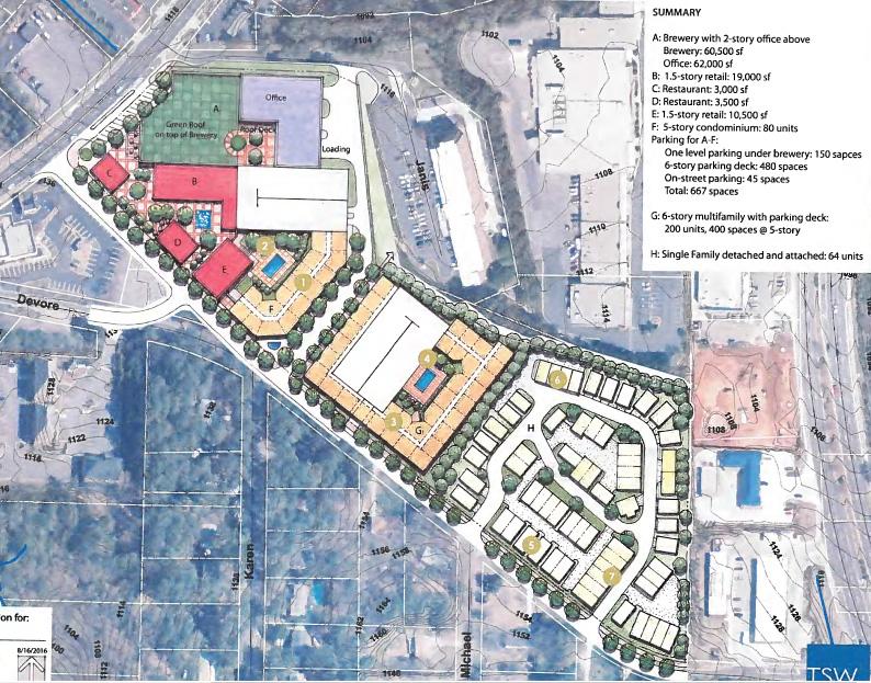 Avalon Alpharetta Ga >> Urban Core Density proposed for Devore Road in Alpharetta   GA Jim